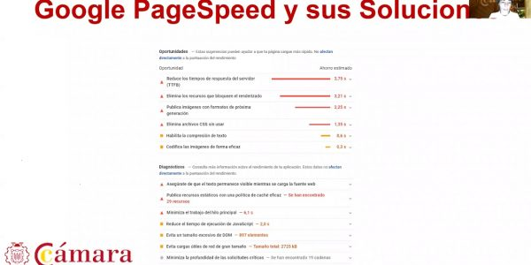Google Speed, Google Search Console, Google Analytics