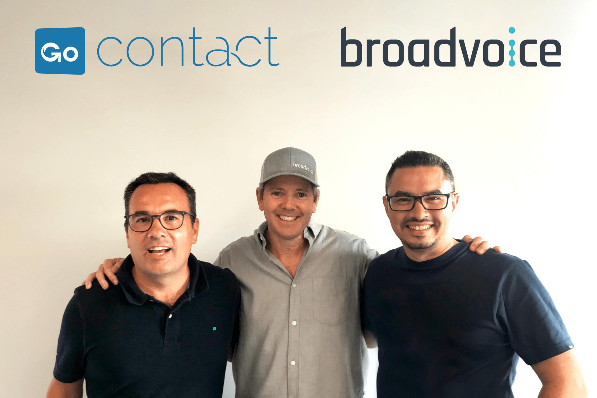Broadvoice amplía su presencia internacional y portfolio tecnológico con la adquisición de GoContact